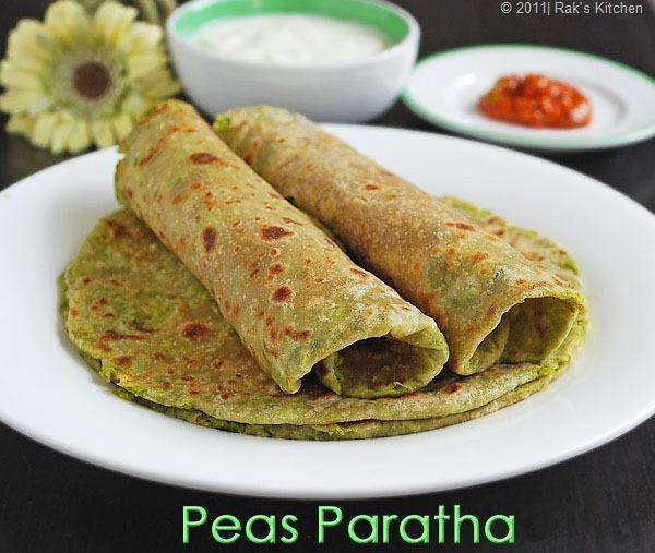 peas paratha... | recipes: asianCuisines | Pinterest