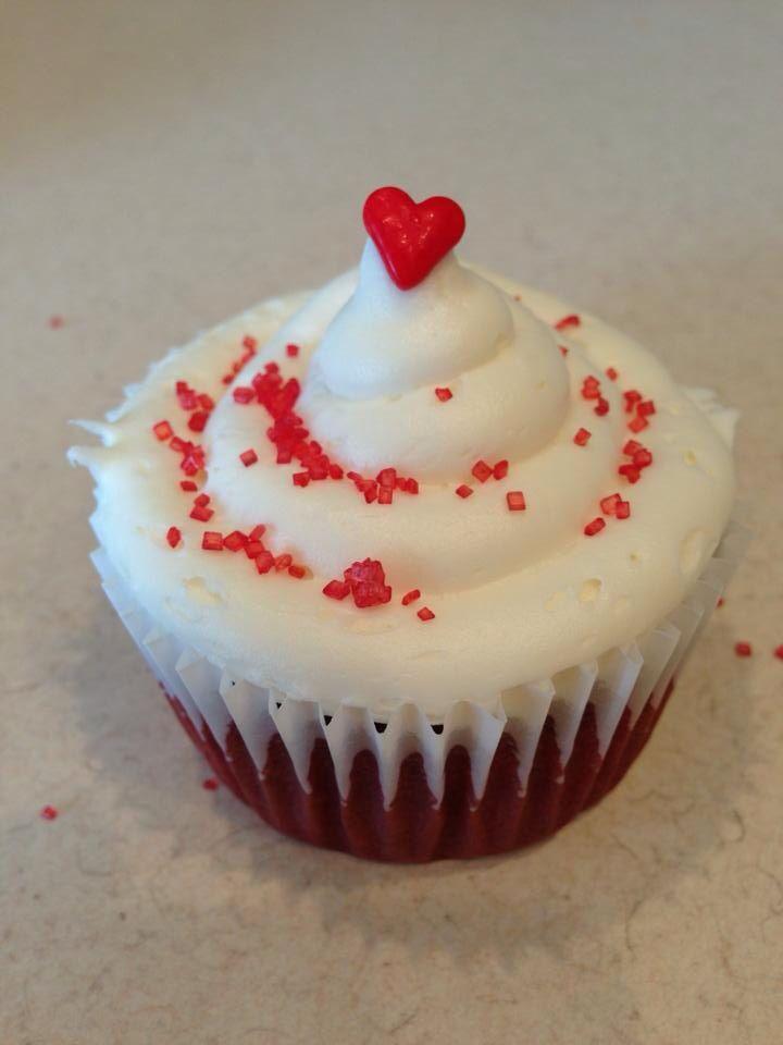 red velvet valentine's day cupcakes recipe