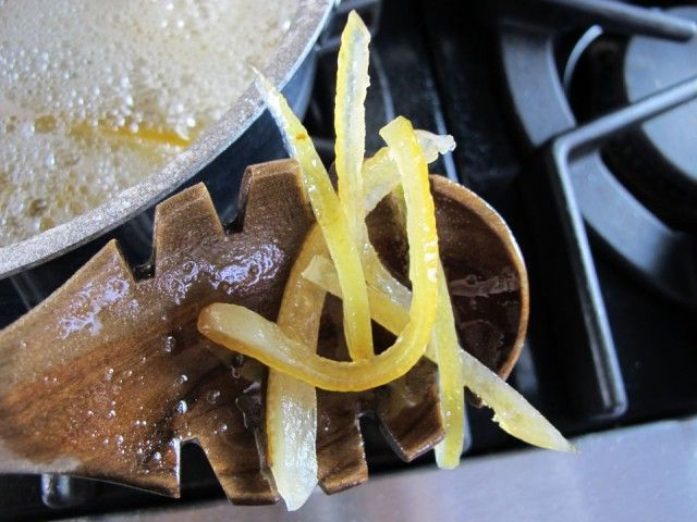 How to Make Candied Lemon Peels | Recipe