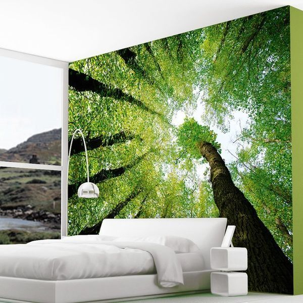 Enchanted forest wall murals for Enchanted forest wall mural
