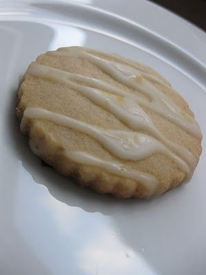 Sunday Treats: Lemon Glazed Ginger Sugar Cookies