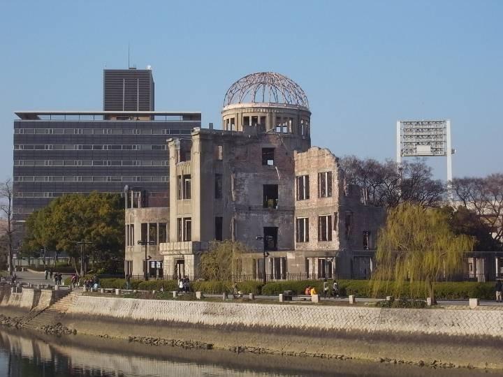 Atomic Bomb Dome, Hiroshima  ♥JAPAN♥  Pinterest