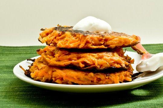 Sweet Potato Latkes For Thanksgivukkah |Thanksgivukkah Foods (I'm ...