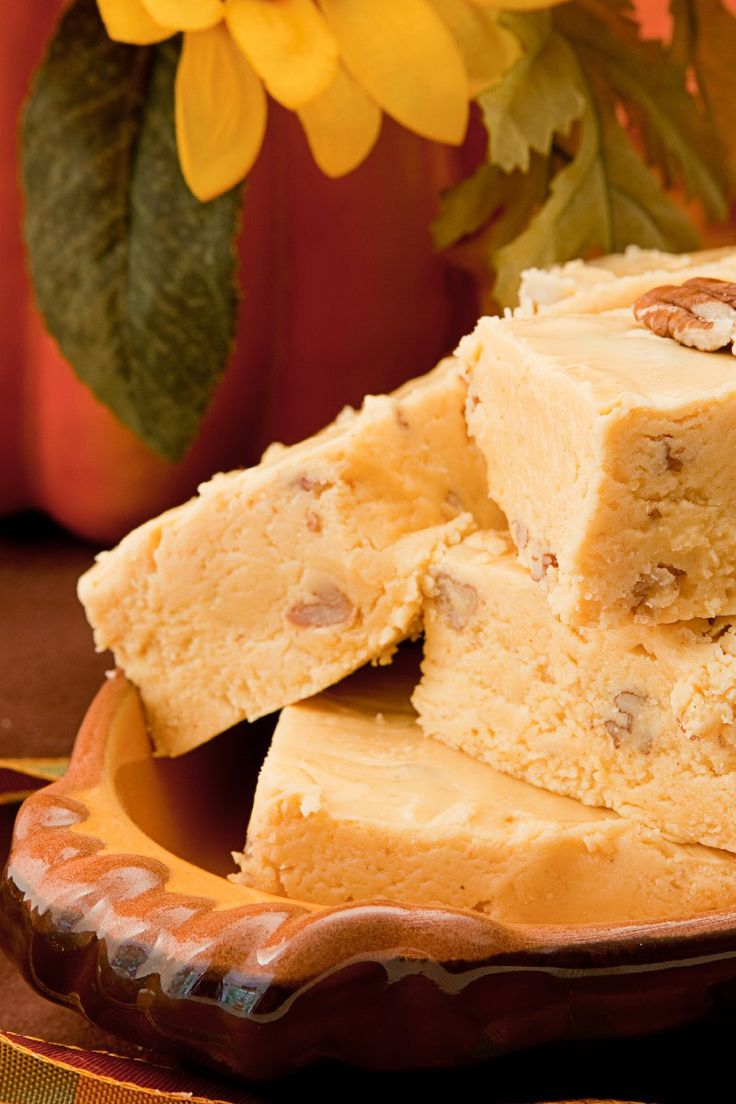 Pumpkin Fudge | Delightful desserts | Pinterest
