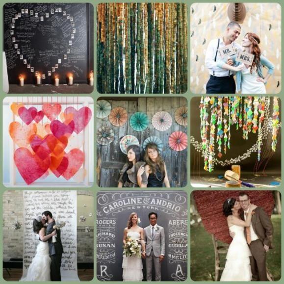 Wedding Photo Booth Backdrop: Photo Booth Backdrop Ideas