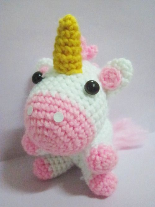 Unicorn Amigurumi : Amigurumi Unicorn Pattern Crochet Pinterest