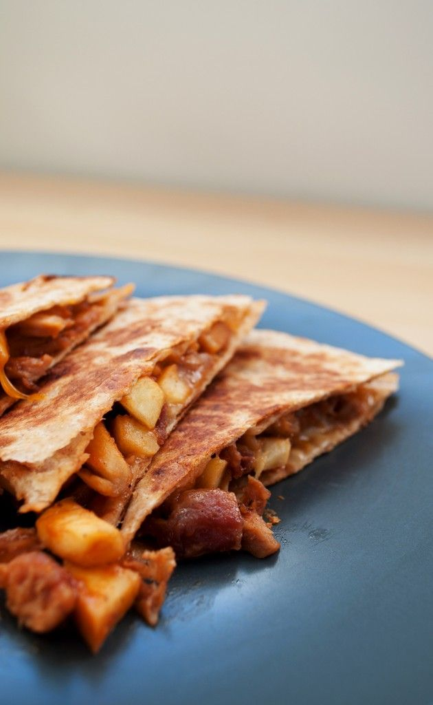 Sweet & Smokey Pulled Pork Quesadilla