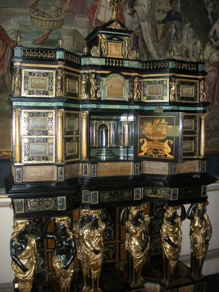 Attribué à Pierre Gole (v. 1620-1684) – Cabinet, vers 1670 – Nostell Priory