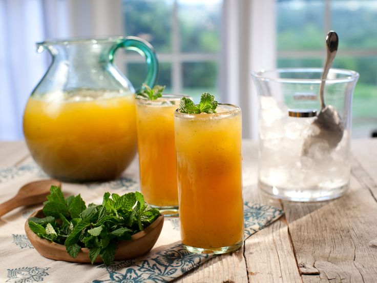 Melon-Mint Agua Fresca from FoodNetwork.com (add watermelon if you ...