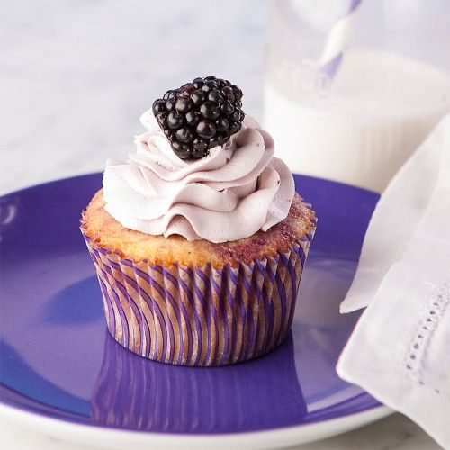 Blackberry Lemon Cupcakes, Gluten Free | Allergy Free Party Sweets ...