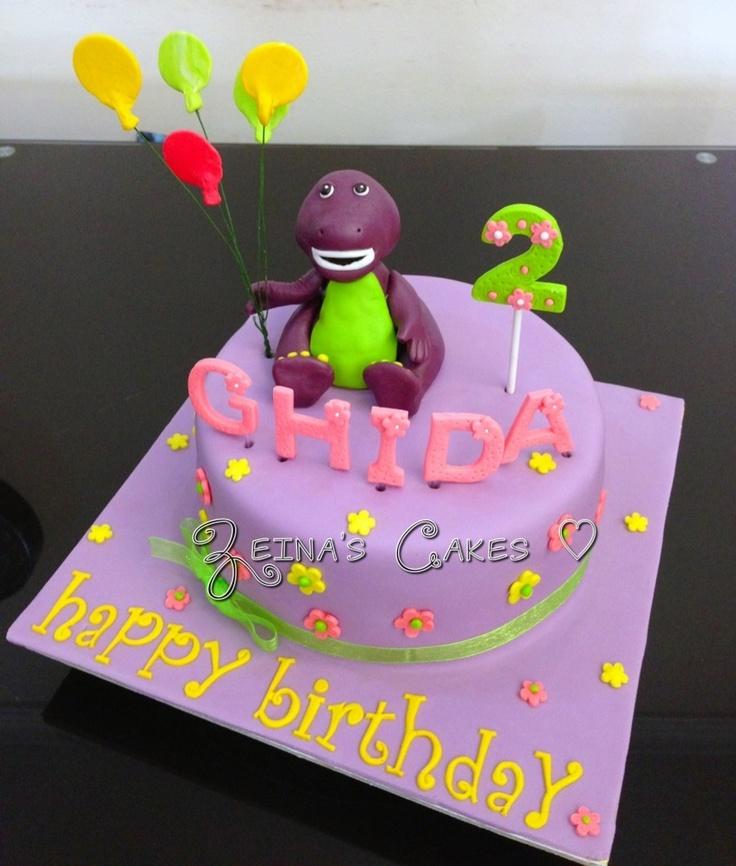 Barney cake !!!