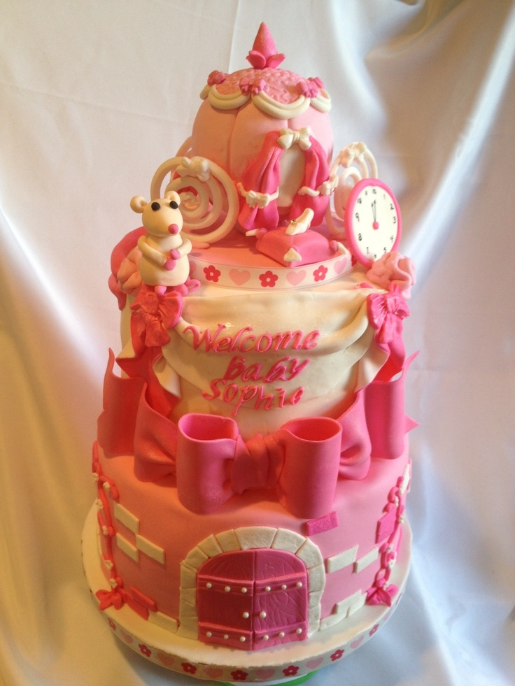 baby shower princess baby shower cake cinderella welcome baby