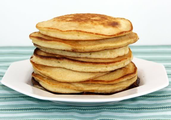Almond Pancakes With Sour Cherry Syrup Recipes — Dishmaps