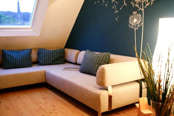 schöne wohnzimmer farbe:BM 'Champion Cobalt'