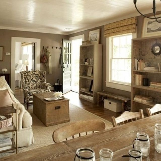 Rustic Living Room Colors