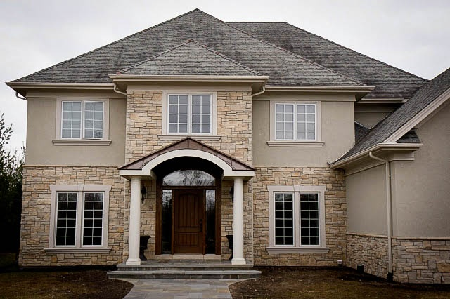 Stone Veneer Exterior Home Design Ideas Pinterest