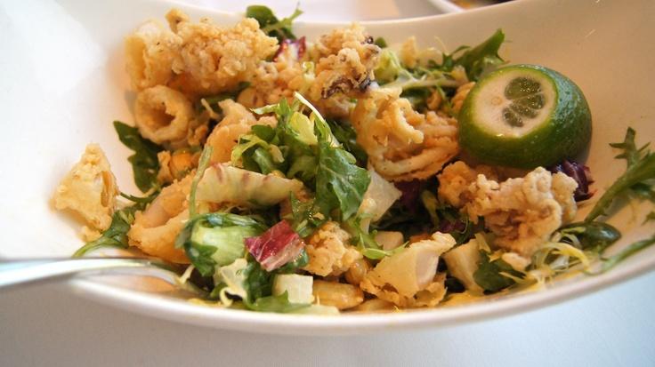 Calamari salad   FOOD   Pinterest