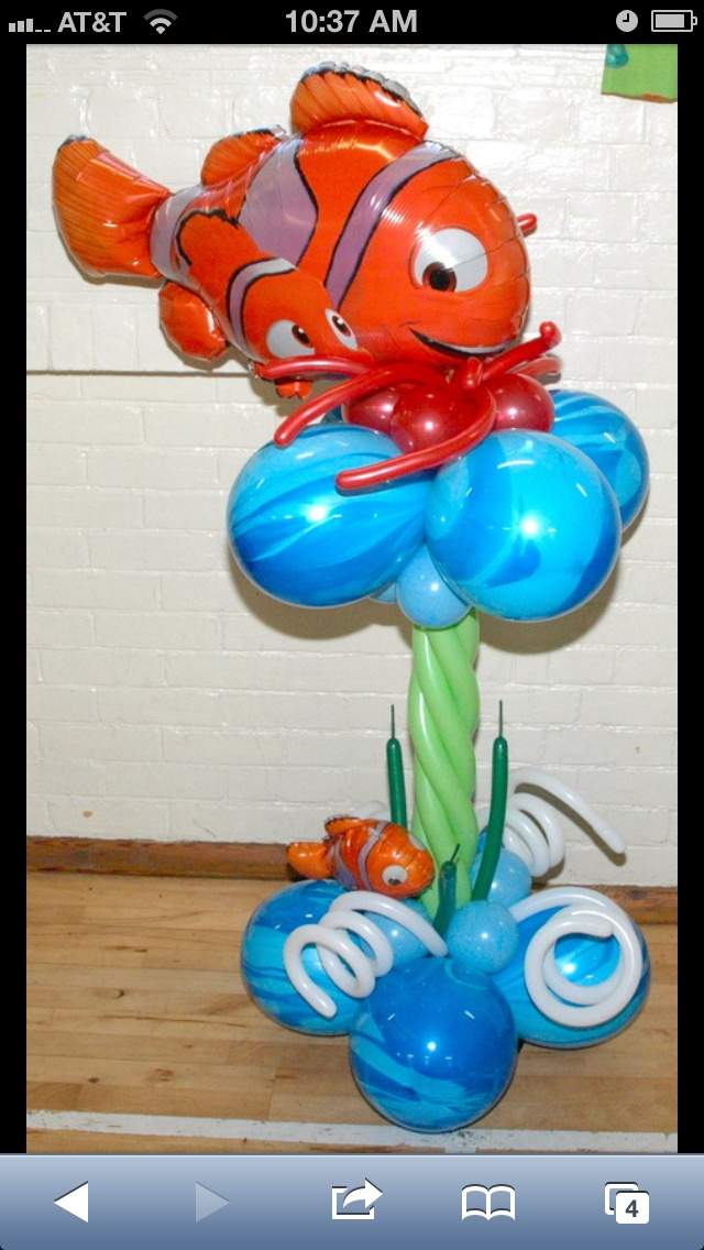 Finding Nemo Centerpieces Wwwimgkidcom The Image Kid