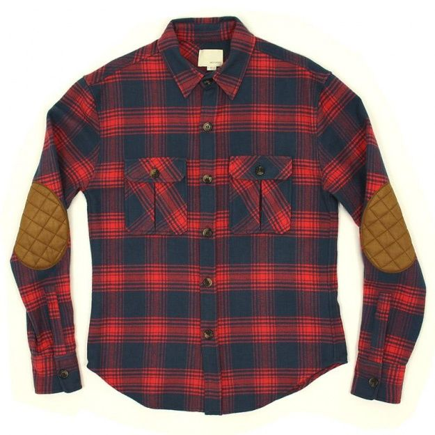 Work Shirt With Leather Elbow Patches Wear Pinterest