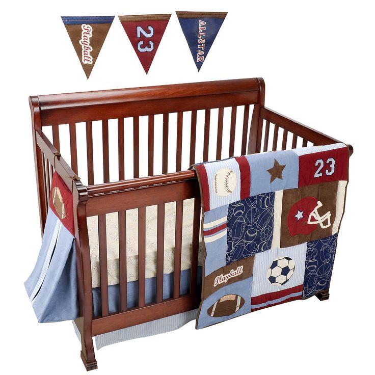 Nojo Play Ball  Piece Crib Bedding Set