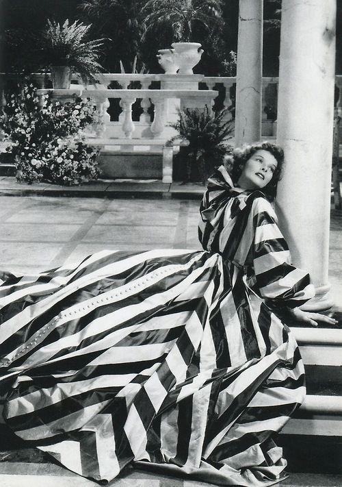 Katharine Hepburn in Break of Hearts (1935), gown by Adrian