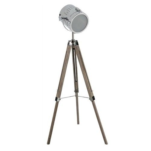 Spotlight tripod floor lamp lighting pinterest - Tripod spotlight lamp ...
