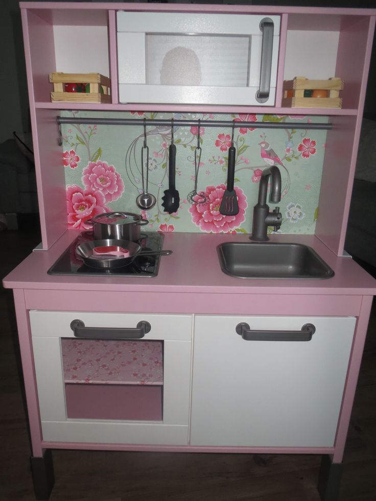 Ikea Keuken Pimpen : IKEA Toy Kitchen Makeover