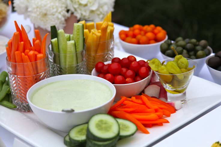 Veggie Shooters (Crudites With Skinny Ranch Dip) Recipe — Dishmaps