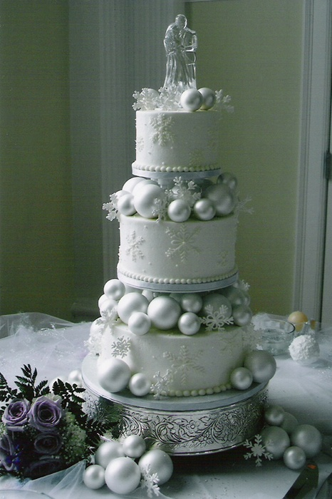 Winter themed wedding cake winter theme pinterest