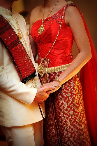 Thai Bride And Groom 94