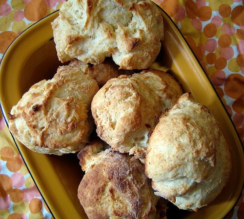 Feather-light Drop Biscuits by Everybody Likes Sandwiches. No cream of ...