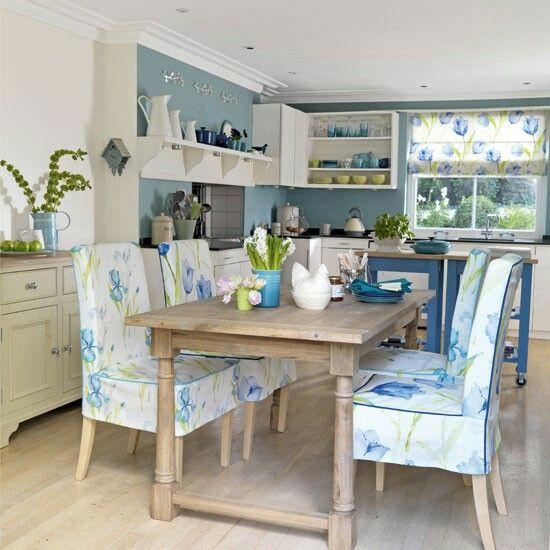 lovely blue and green kitchen kitchen pinterest