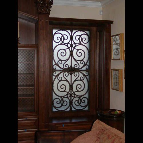 Faux Wrought Iron Window Home Decor Ideas Pinterest
