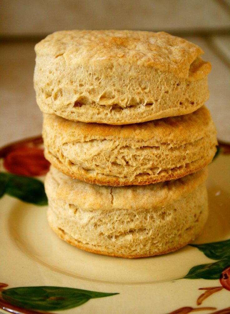Whole Wheat Biscuits from Anecdotes and Apple Cores