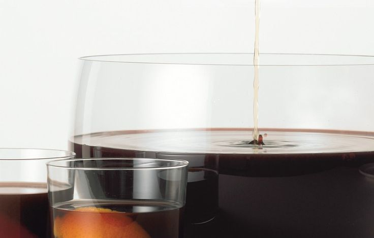 Flaming Brandy Punch - Bon Appétit