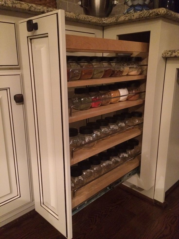 pull out spice rack for the home diy projects and decorations pi. Black Bedroom Furniture Sets. Home Design Ideas