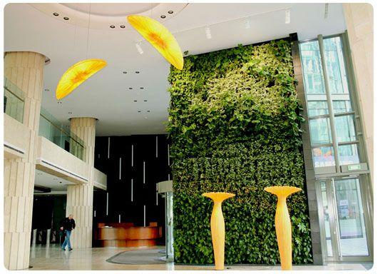 Indoor vertical garden Garden design vertical gardens