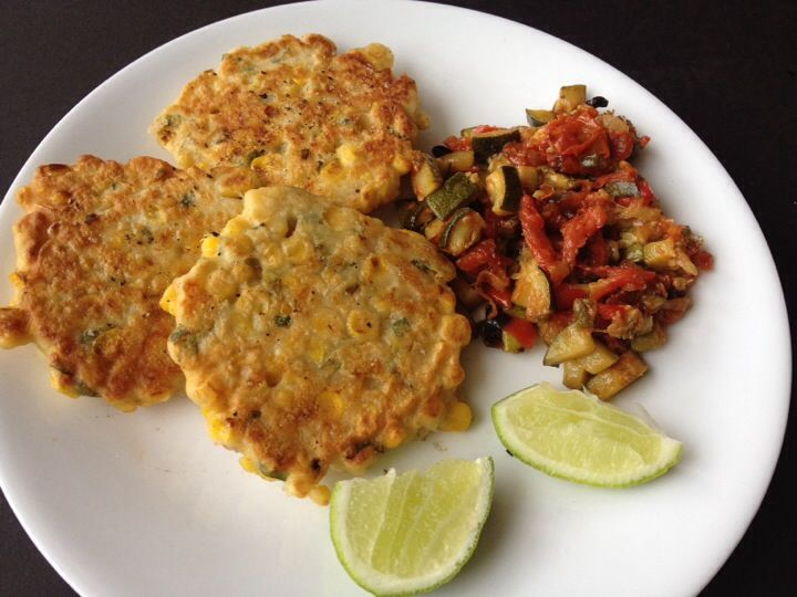 Spicy Corn Fritters Recipes — Dishmaps