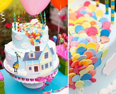 Disney Pixar's Up cake......