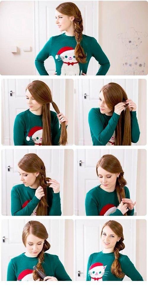 Косички на средние волос пошагово на девочек