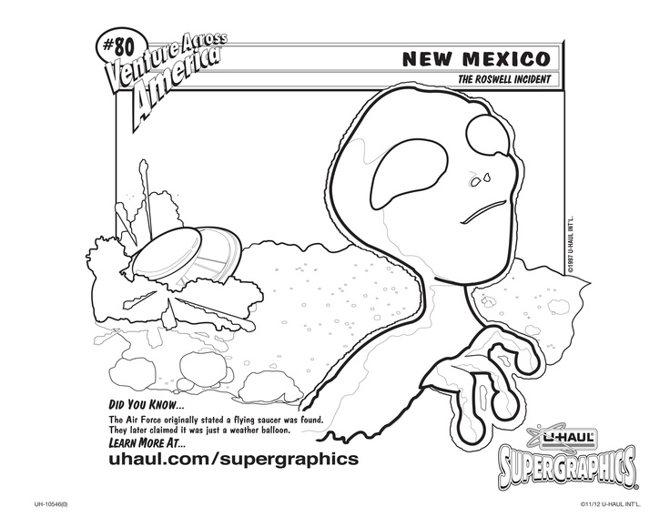 u haul supergraphics coloring contest pages - photo #5