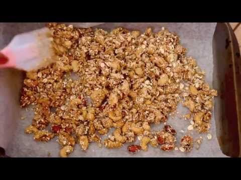 video recipe; granola crusted nuts | How To Videos | Pinterest