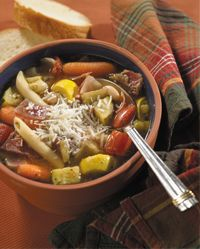 Roasted Vegetable Minestrone from HOlly Clegg's Trim & Terrific ...