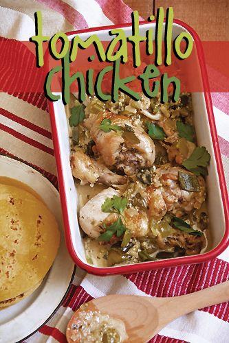 Tomatillo Chicken | Recipe