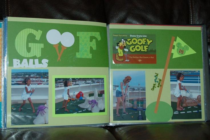 Goof balls! | Disney scrapbook ideas | Pinterest