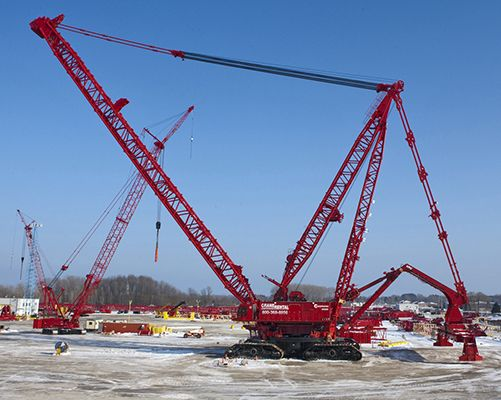 Large Construction Cranes : Pin by construction network inc of jonesboro arkansas
