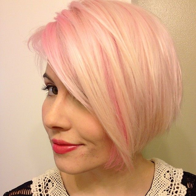 cotton candy pink hair cute hair styles pinterest