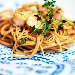 light lemon, herb and shrimp pasta. | Gary's Lemon Everything | Pin ...