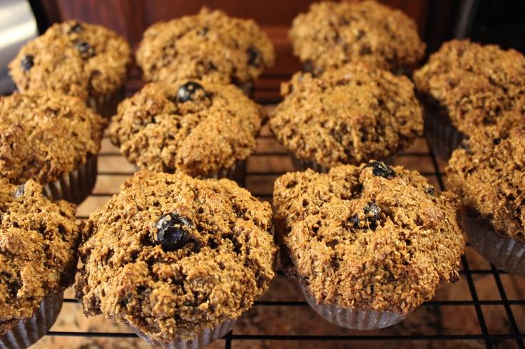 blueberry bran muffins | food I make | Pinterest