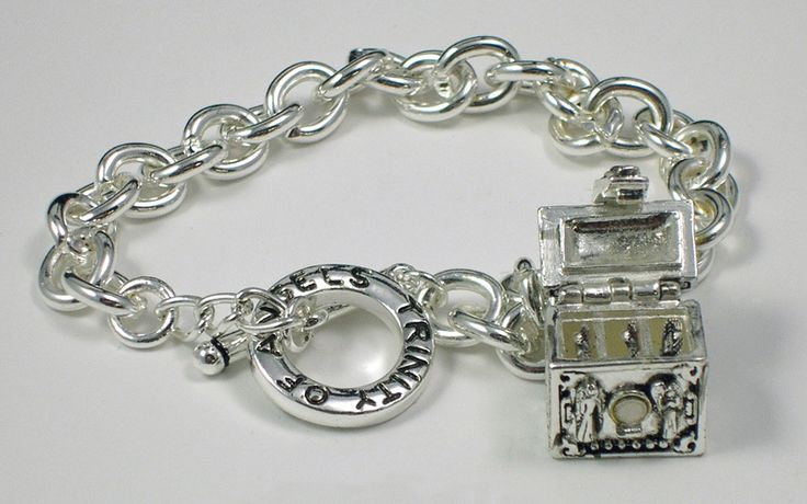 Trinity of Angels Silver Toggle Bracelet | life,caring and Happiness ...